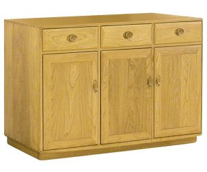 ercol Windsor Three Door High Sideboard
