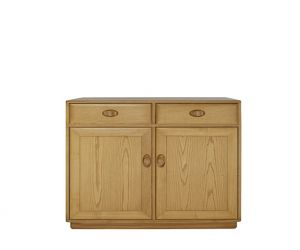 ercol Windsor 2 Door High Sideboard