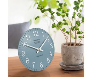 Cotswold Mantel Denim Clock