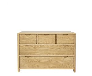 ercol Bosco 5 Drawer Wide Chest