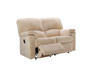 G Plan Chloe Fabric Two Seater Recliner Sofa