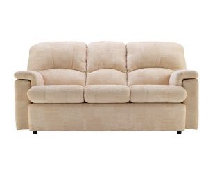 G Plan Chloe Fabric Three Seater Small Sofa