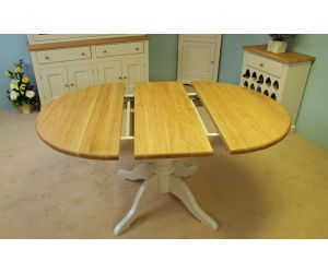 Andrena Barley Extending Pedestal Table