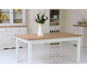Andrena Barley Fixed Top Dining Table