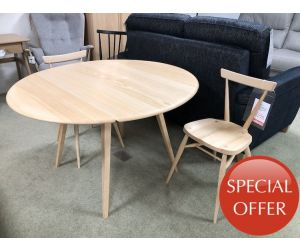 ercol collection Drop Leaf Table & Chairs
