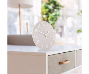 Arabic Dusty Pink Mantel Clock