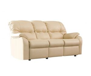 G Plan Mistral Leather Three Seater Power Recliner Sofa