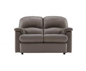 G Plan Chloe Leather Two Seater Small Sofa