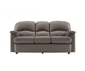 G Plan Chloe Leather Three Seater Small Sofa