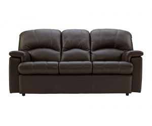 G Plan Chloe Leather Three Seater Sofa