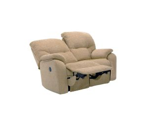 G Plan Mistral Fabric Two Seater Recliner Sofa
