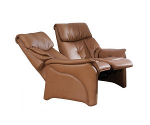 Himolla Chester 2 Seater Manual Recliner Sofa