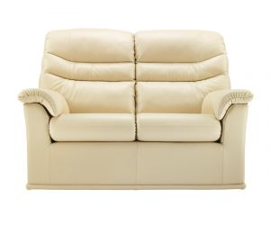 G Plan Malvern Leather Two Seater Sofa
