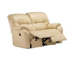 G Plan Mistral Leather Two Seater Recliner Sofa