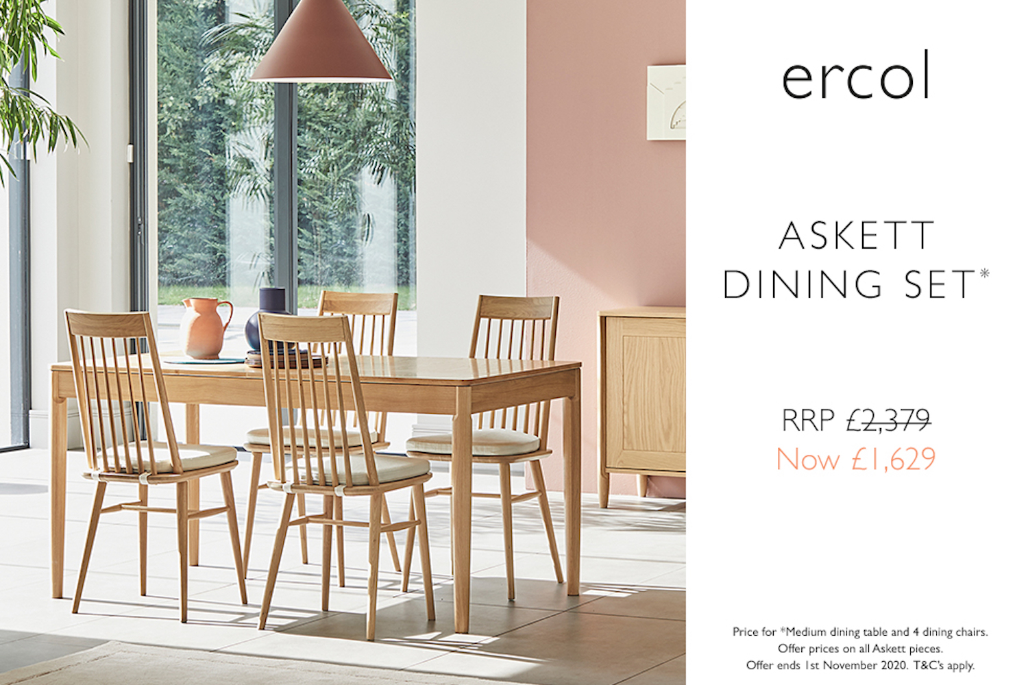 ercol Askett promotion