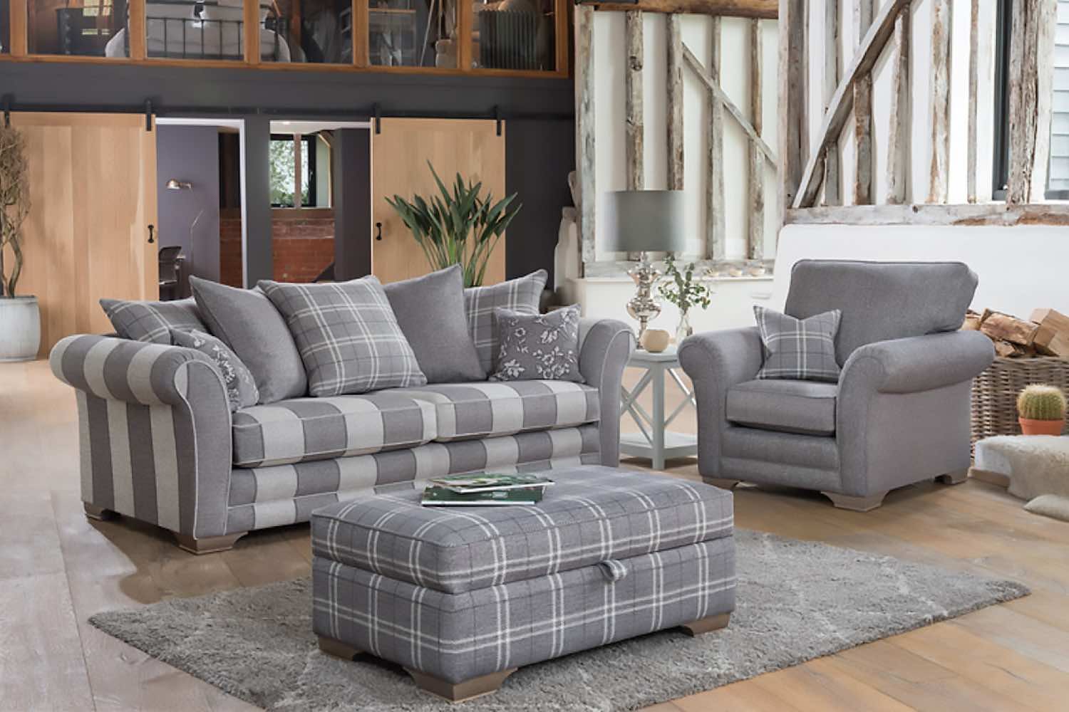 New sofa style from Alstons Upholstery