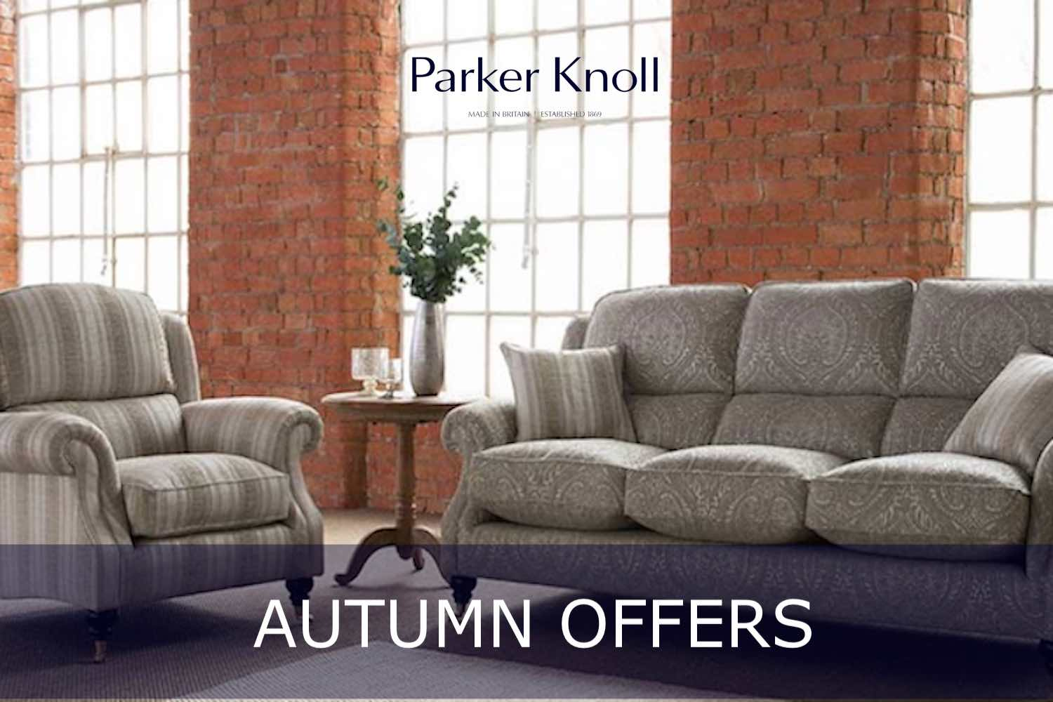 Parker Knoll autumn offers