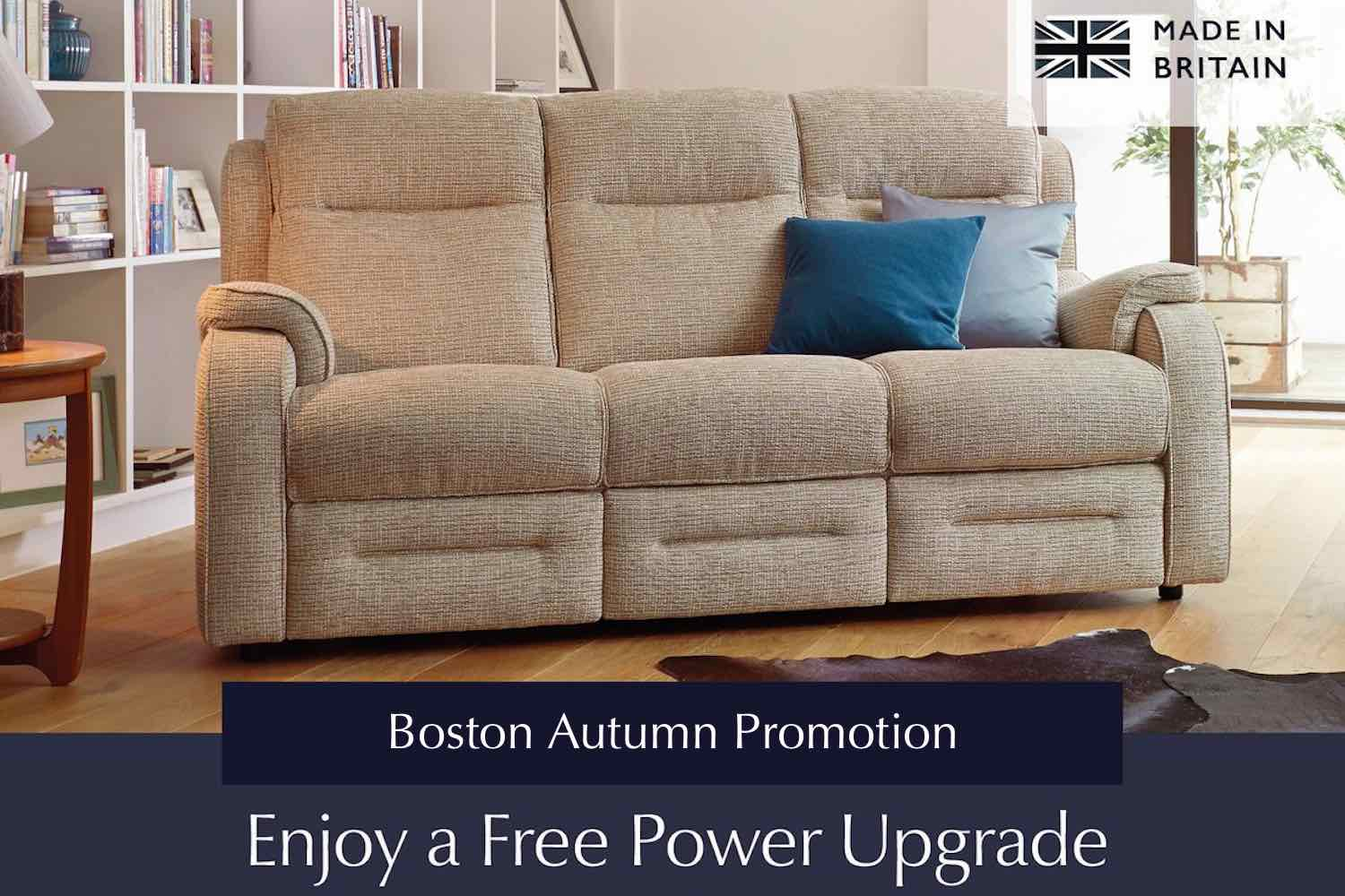 Parker Knoll free upgrade promotion