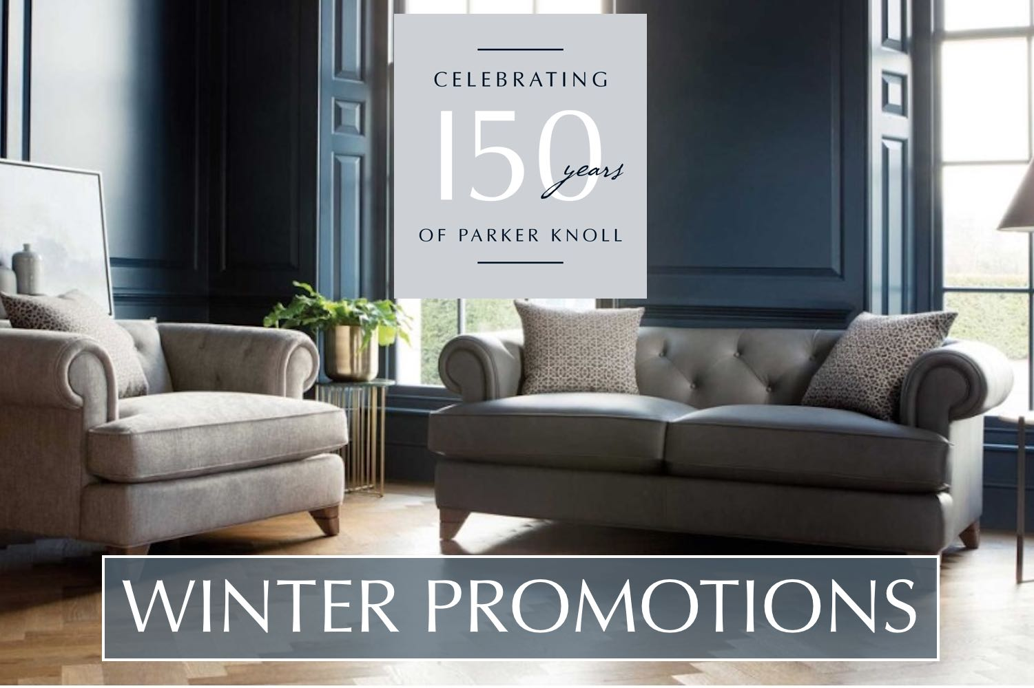 Parker Knoll winter promotions
