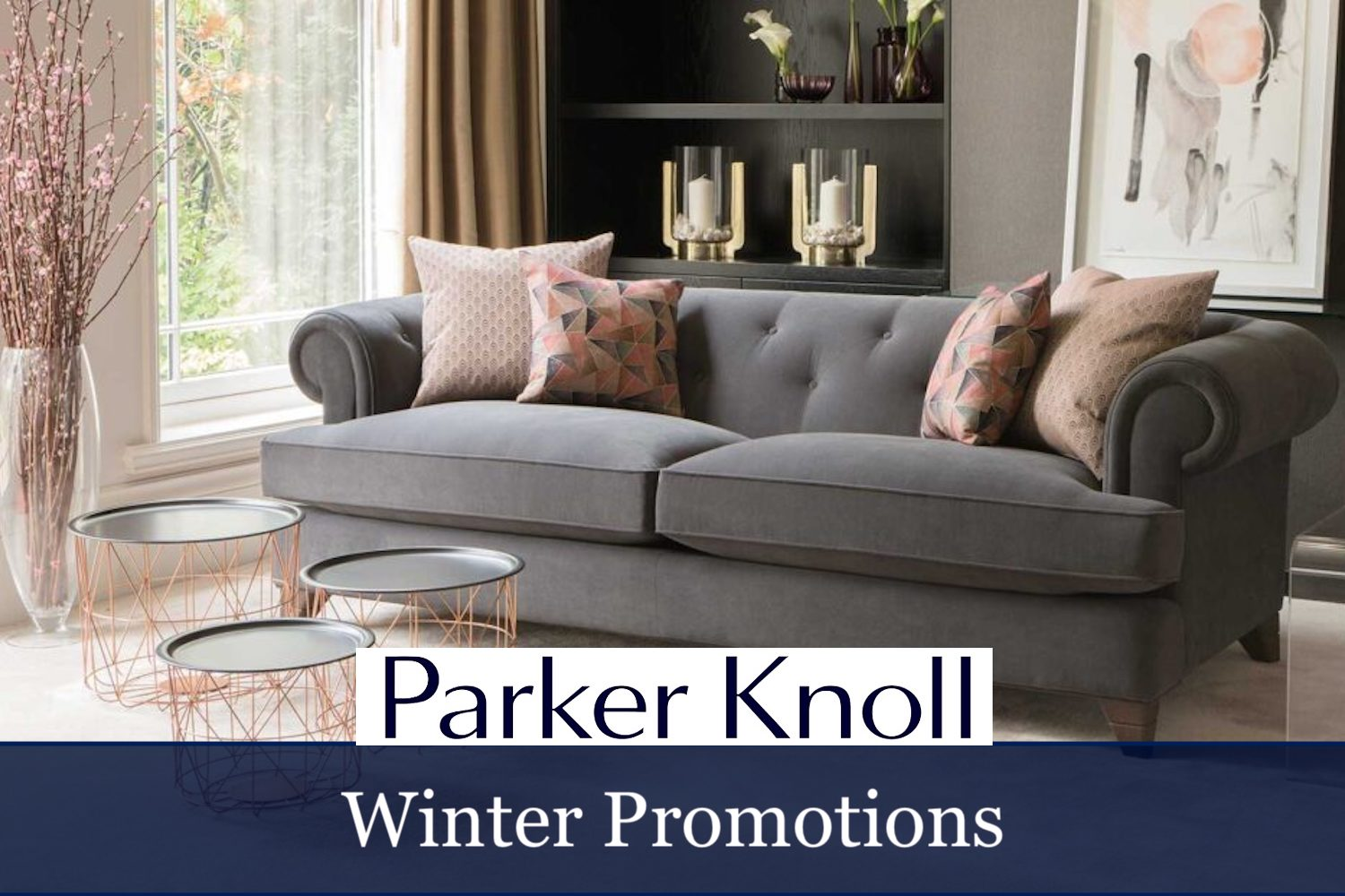Parker Knoll winter sale promotions