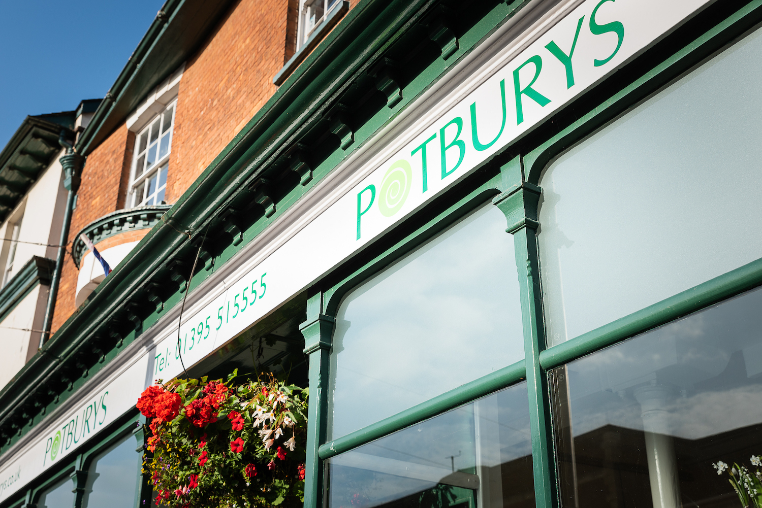 Potburys furniture shop is open