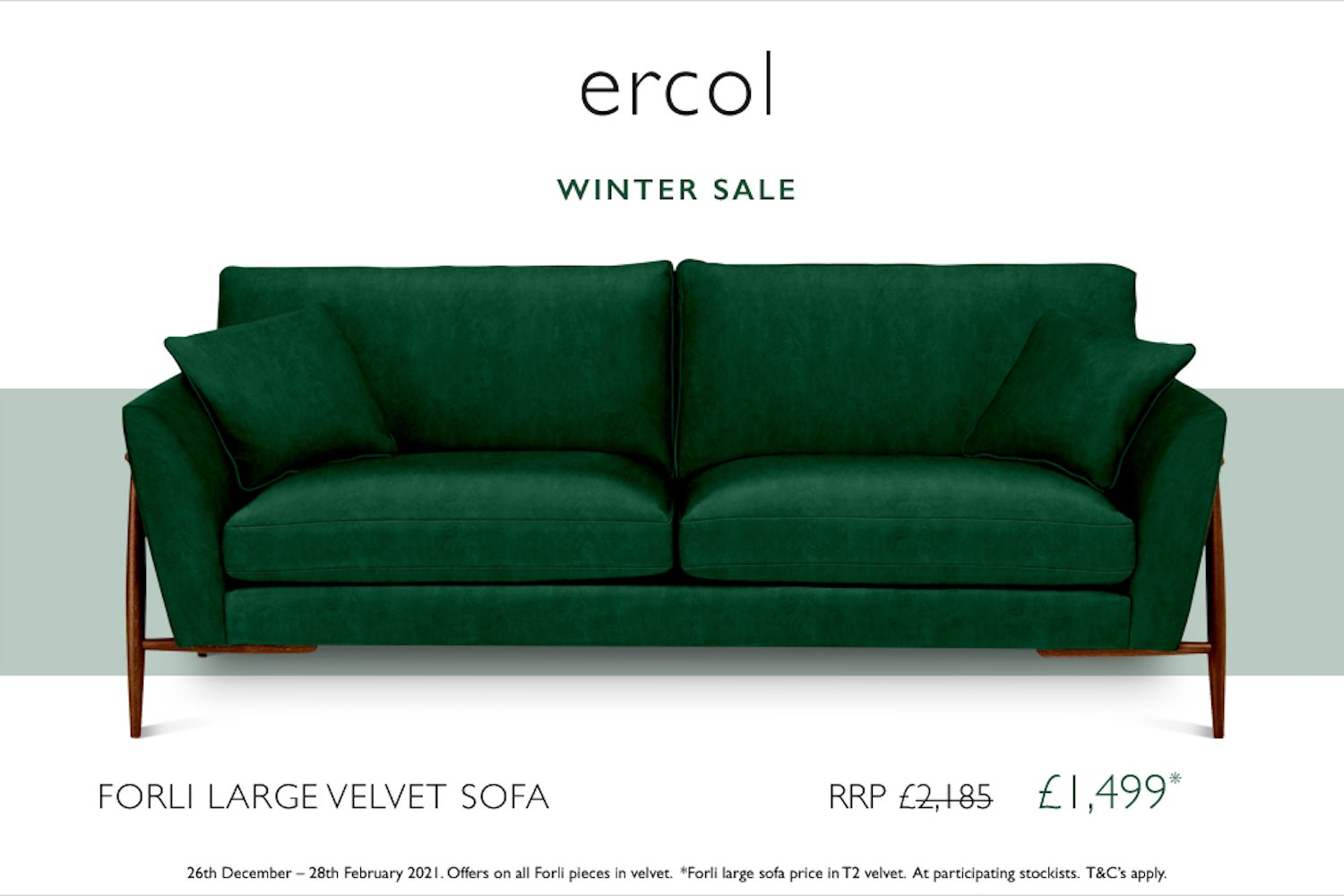 Save on ercol sofas