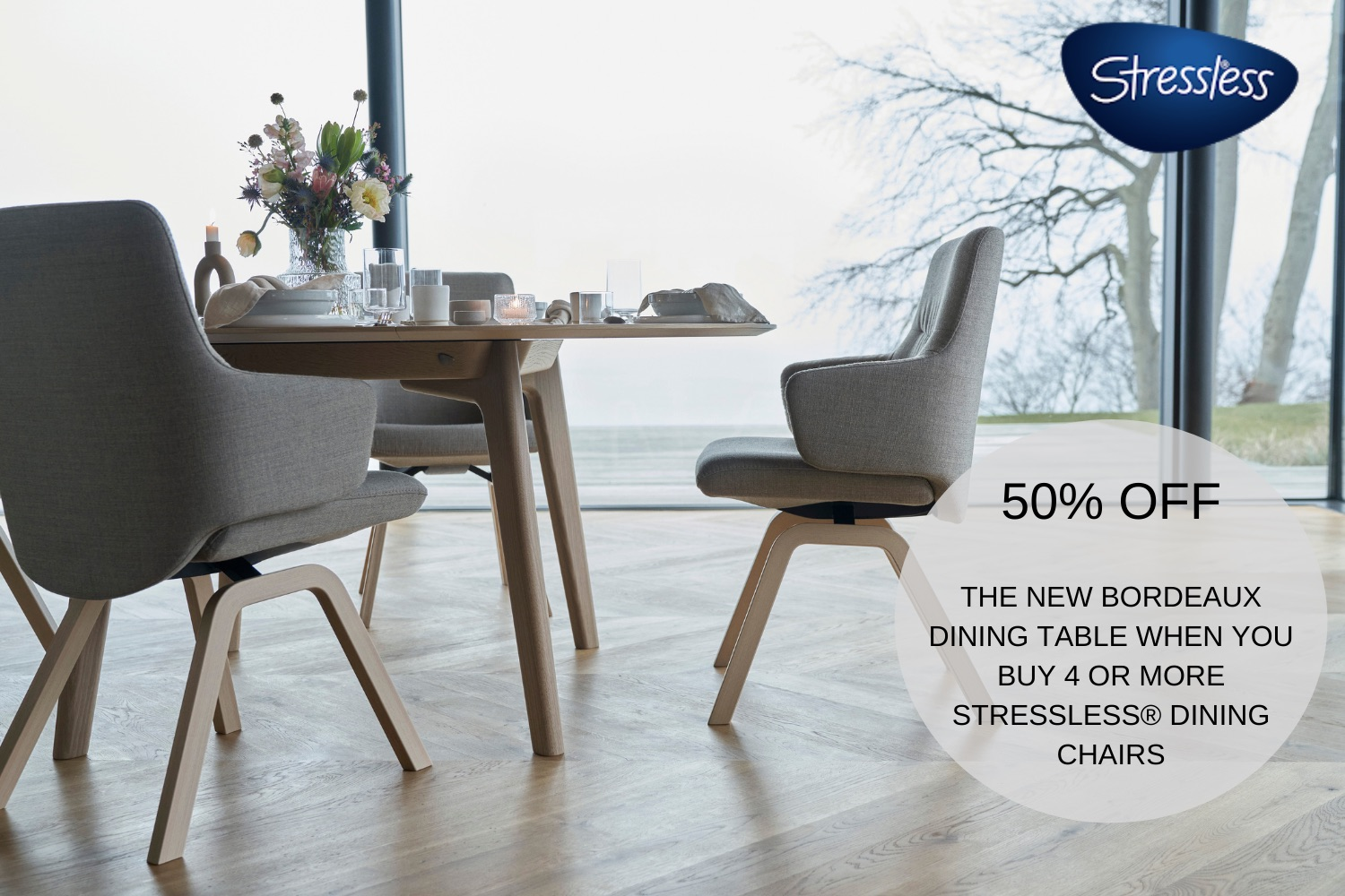Stressless dining promotion