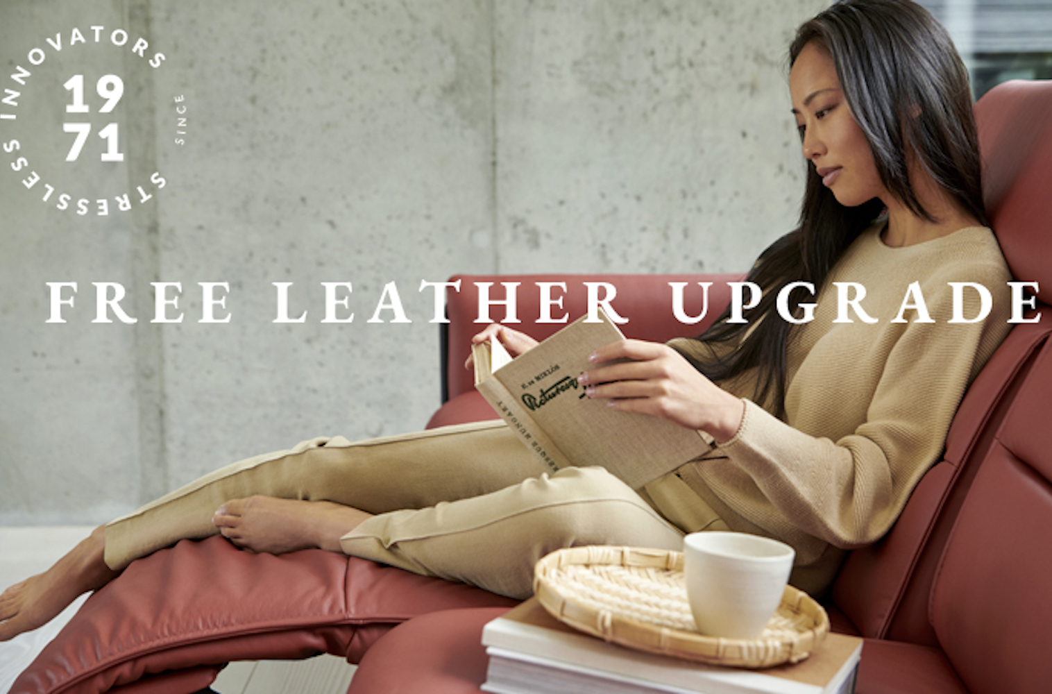 Stressless free leather upgrade