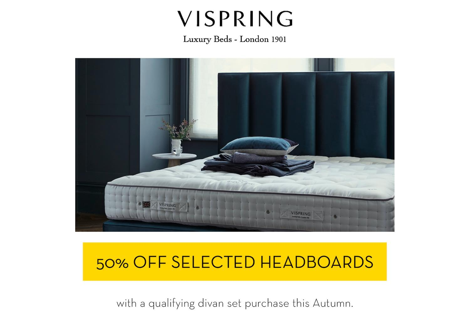 Vispring headboard promotion