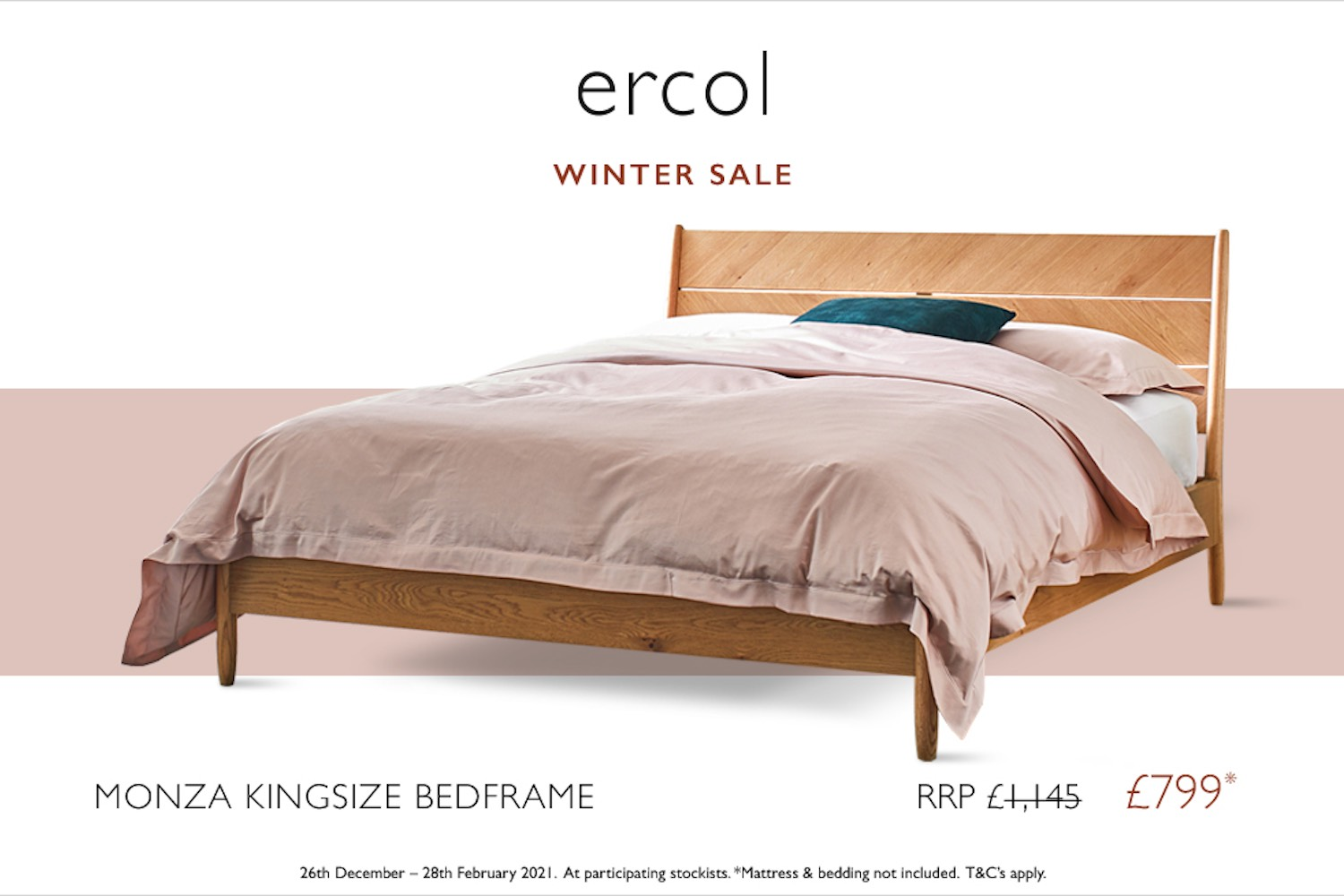ercol bed promotions