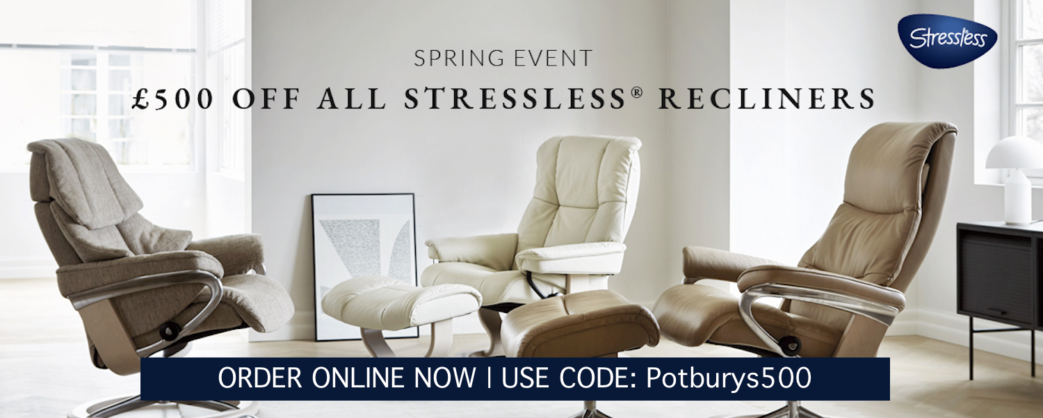 Stressless recliner £500 off