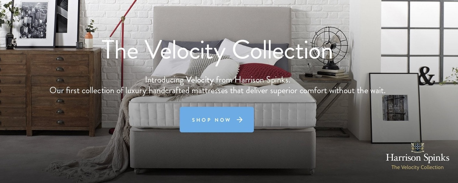 Velocity collection mattress