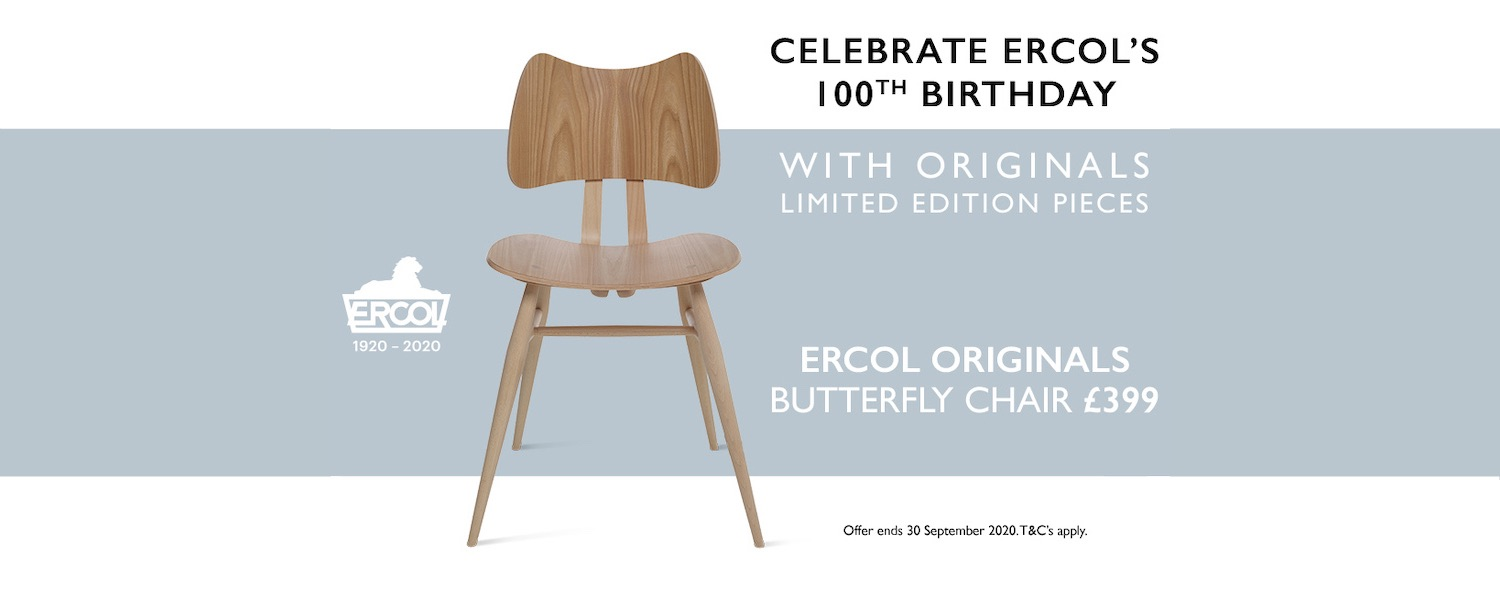 ercol Originals Butterfly chair promotion